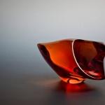 Expositie glassculpturen door Josée Bastiaenen